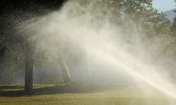 Golf Course Rain