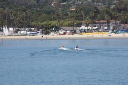 Seadoo Riders in the Harbor