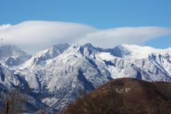 Sierra Nevada's by Lone Pine