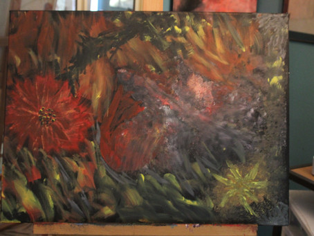 Looking Forward to January 11th - 12th - Taking my paintings to an art faire I hope