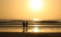 Serenity - A beach Sunset