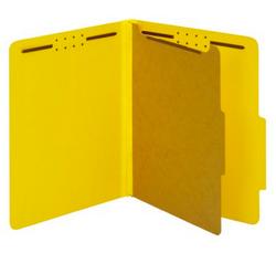 Medical tabbed file folders