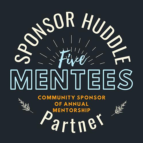 Sponsorship 5 Student Mentees
