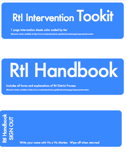 Binder and Toolkit Labels