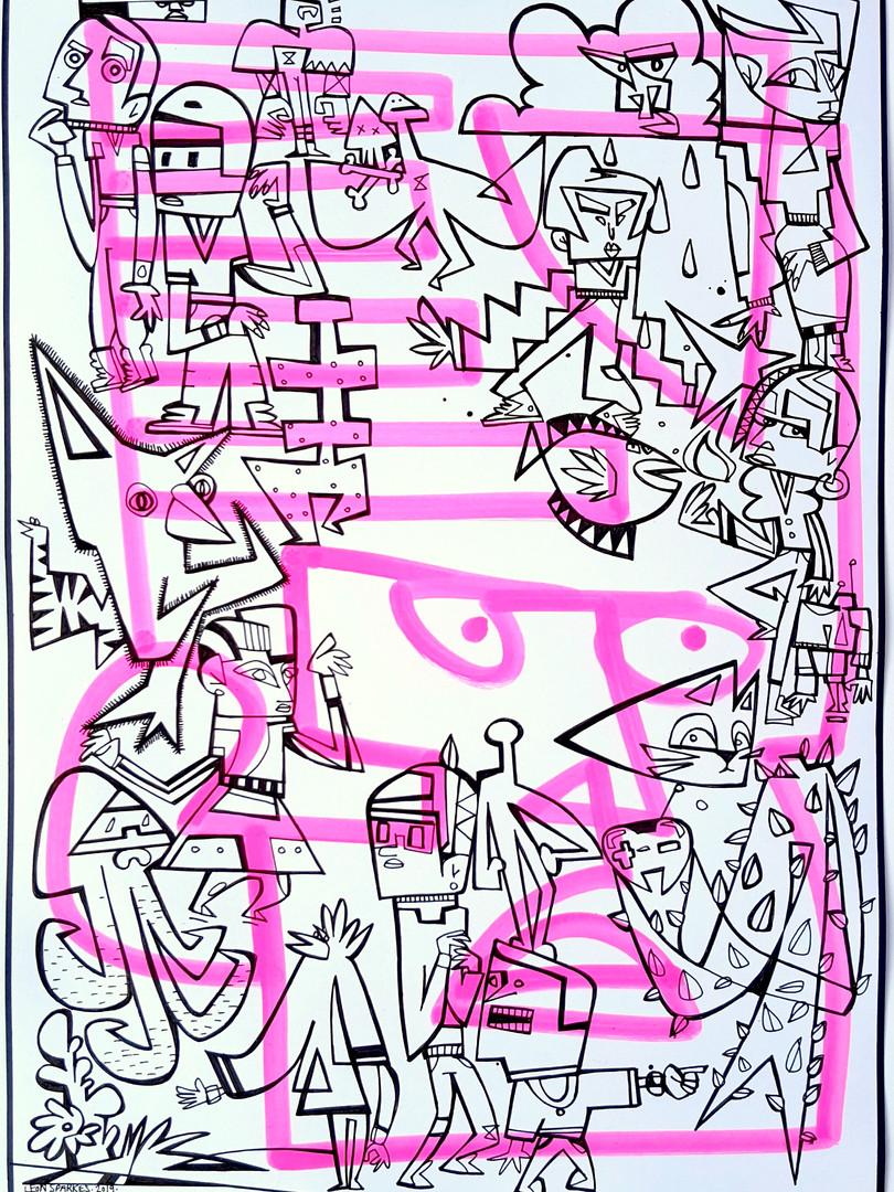 TAGFACE PINK P4