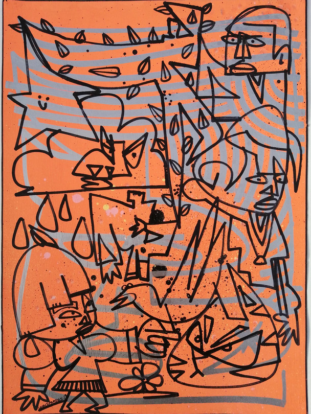 TAGFACE TAKEOVER. Orange