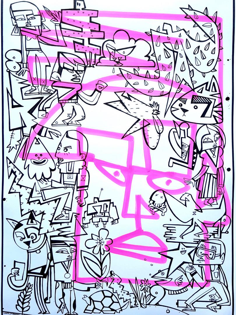TAGFACE - PINK P5