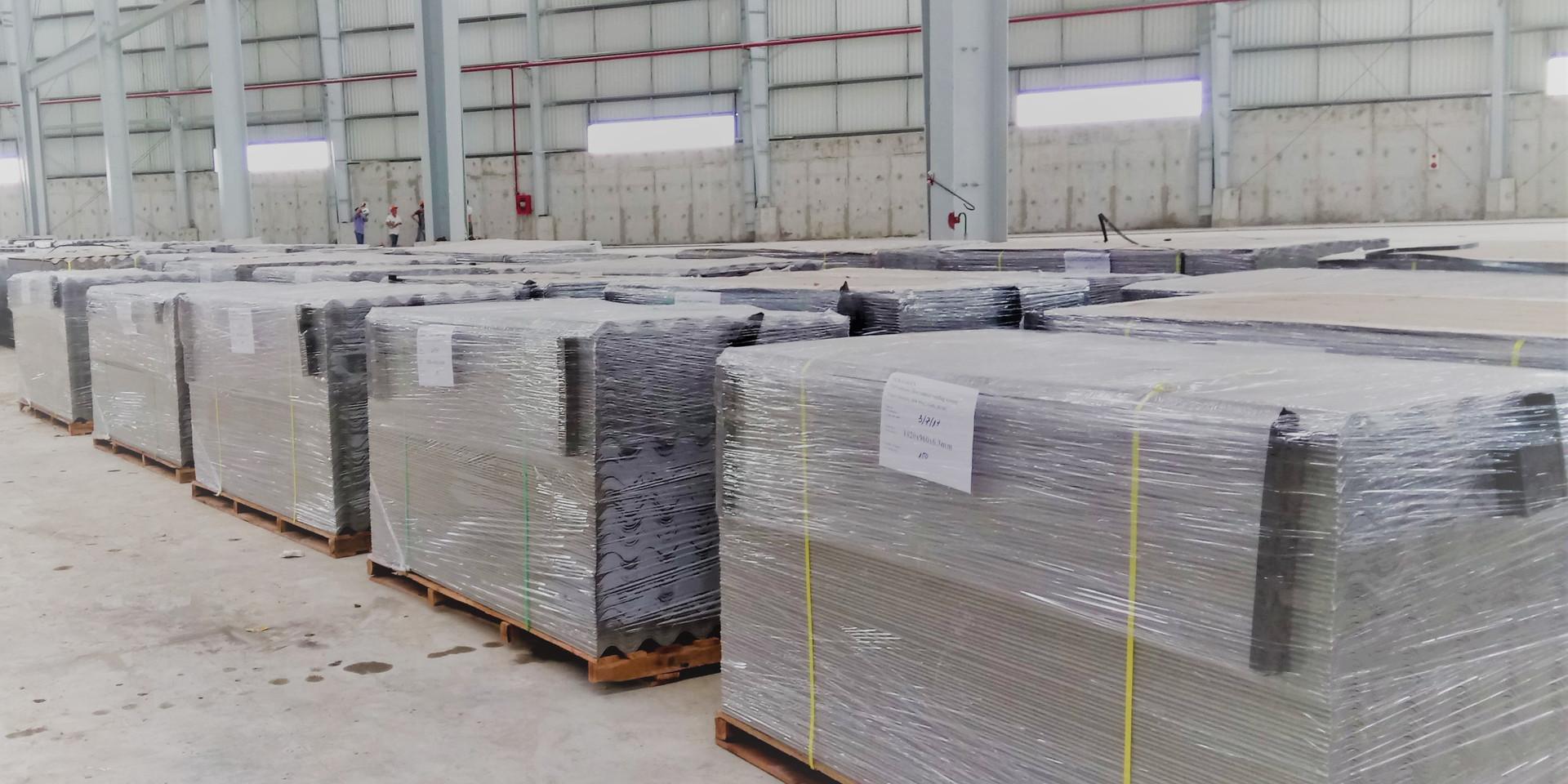 Duragreen fiber cement roofing