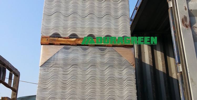 non asbestos corrugated sheet - export l