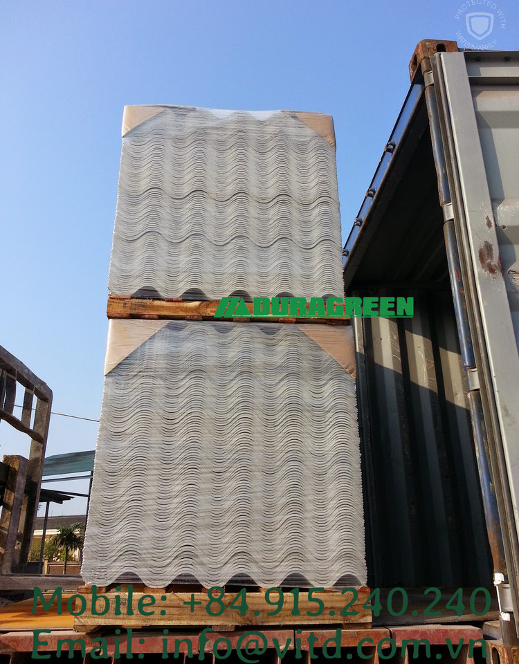 non asbestos corrugated sheet - export l