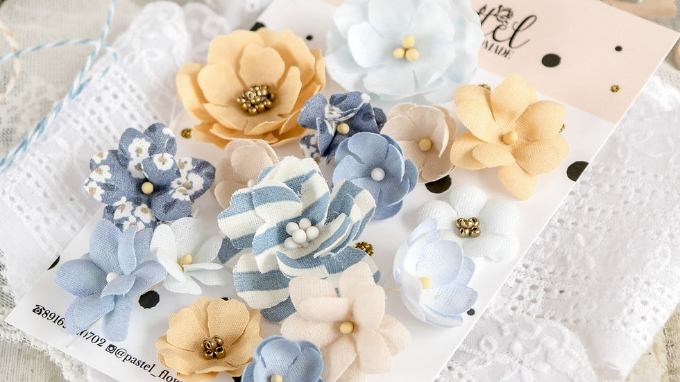 """Set of flowers """"Marine"""""""