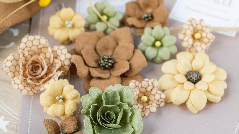 """Set of flowers """"Velvet Autumn"""""""