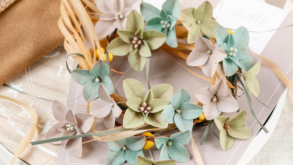 "Set of flowers ""Velvet Autumn"". Hydrangeas"