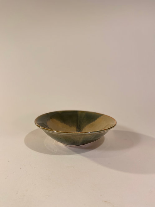 Small, shallow serving bowl