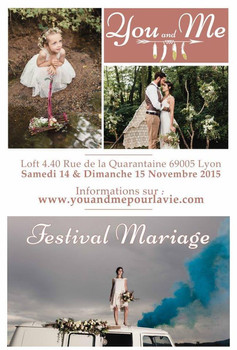 "Festival mariage ""You & Me"""