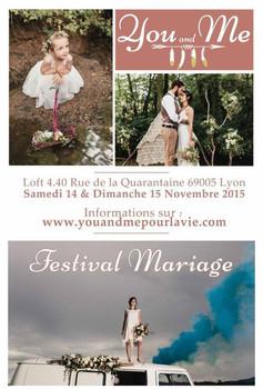 "Festival mariage ""You & Me"""