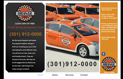 Orange Taxi website (Montgomery Co.)