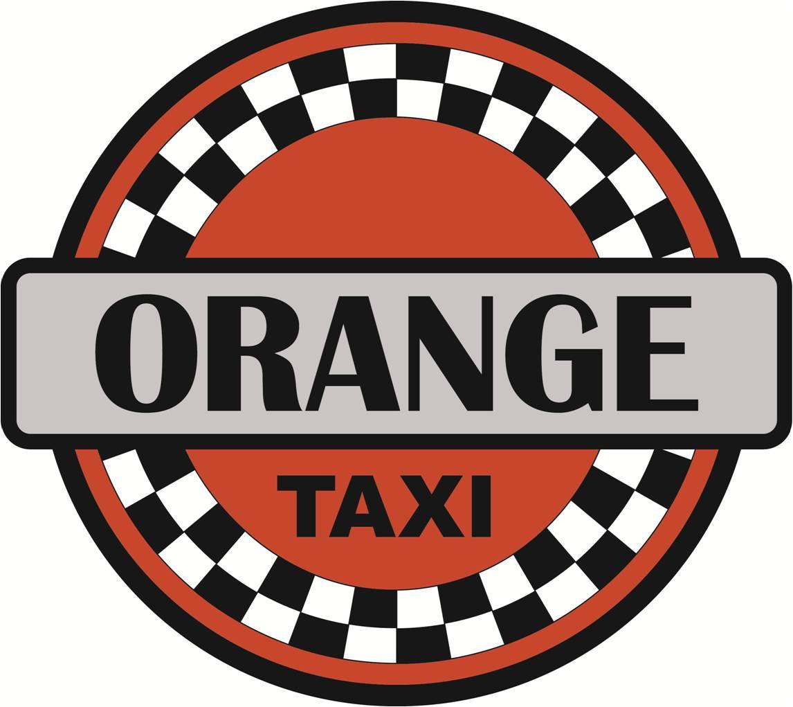 Orange Taxi Logo