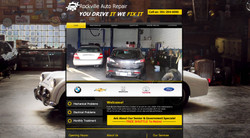 Rockville Auto Repair website