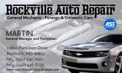 Rokville Auto Repair (business card)