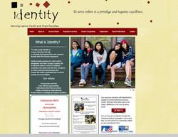 Identity, Inc site (Non-profit Org)