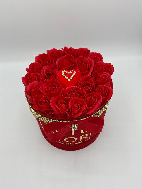 Flower Box Rossa
