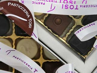 Cioccolatini assortiti in confezione regalo