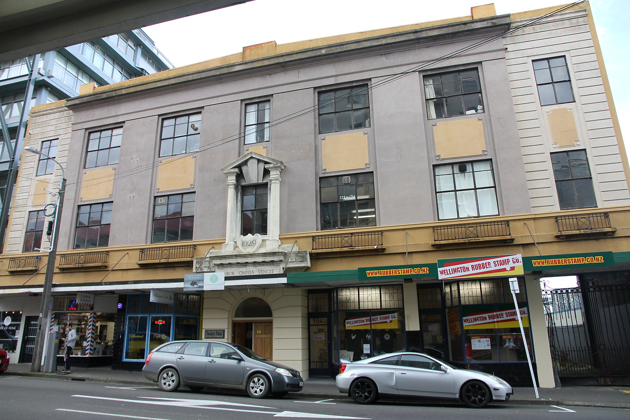 Wellington Trades Hall Vivian Street