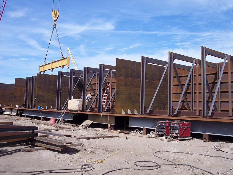 Thomas Tank Barge   Custom Barge Fabrication & Constrution   Galveston