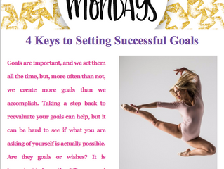 4 Keys to Setting Successful Goals