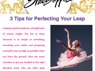 3 Tips to Perfecting Your Leap - Showstopper
