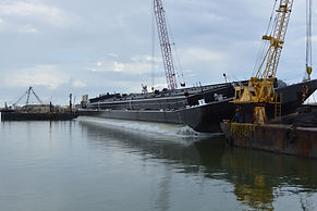 custom barge construction