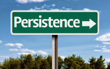 A lesson on persistence and absolute determination