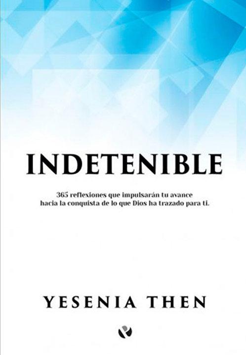 "LIBRO ""INDETENIBLE"" (Yesenia Then)"