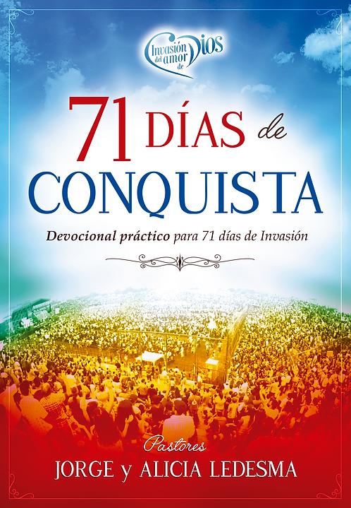 """X10 LIBROS """"71 DIAS DE CONQUISTA"""""""