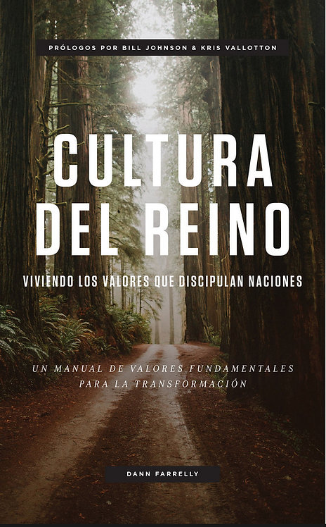 "LIBRO ""CULTURA DE REINO"" (Dann Farrely - Bethel)"