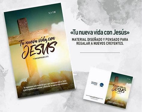 """""""Tu nueva vida con Jesús"""" (Para regalar al nuevo creyente)"""