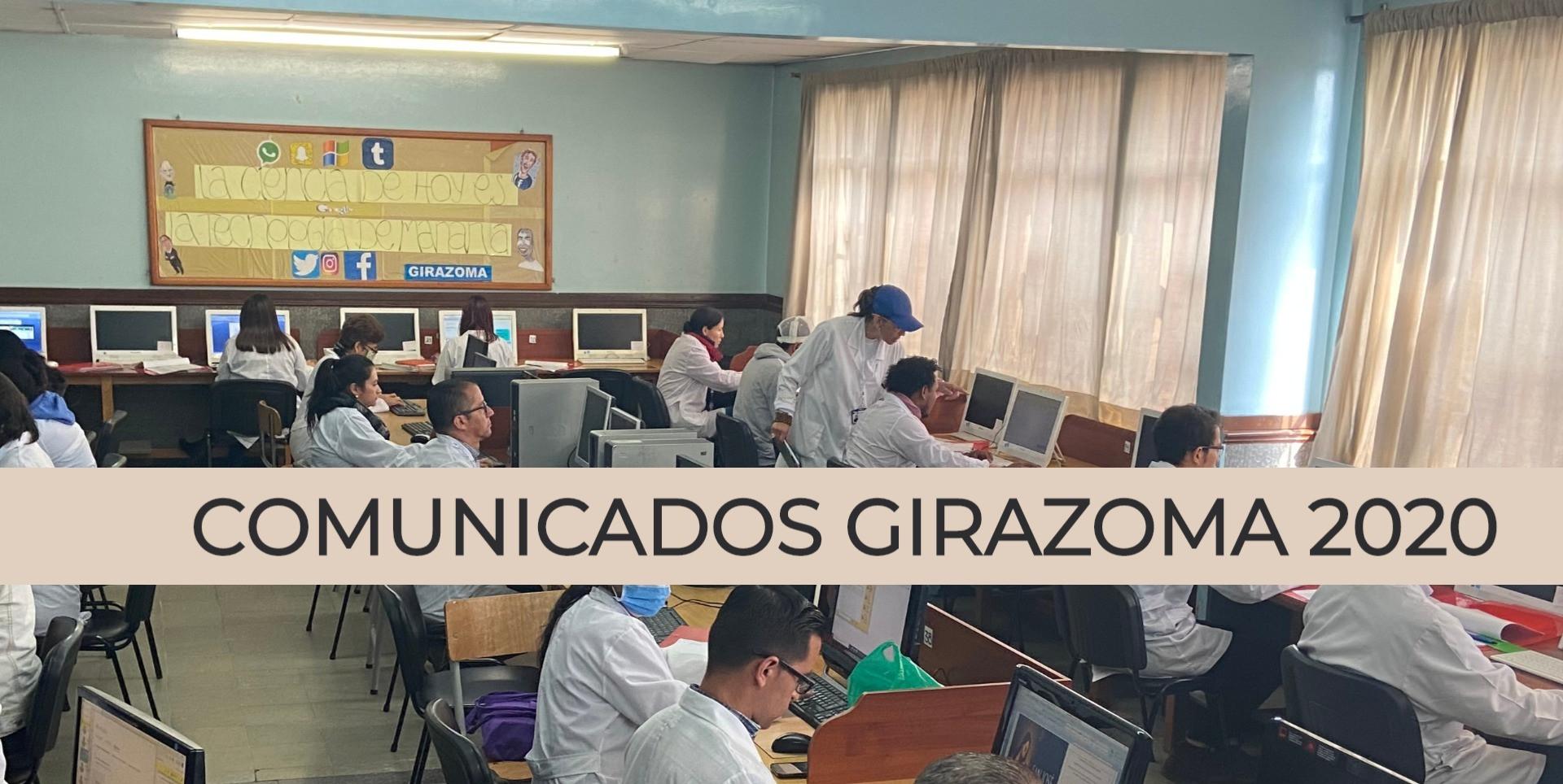 Virtualidad Girazomista 2020