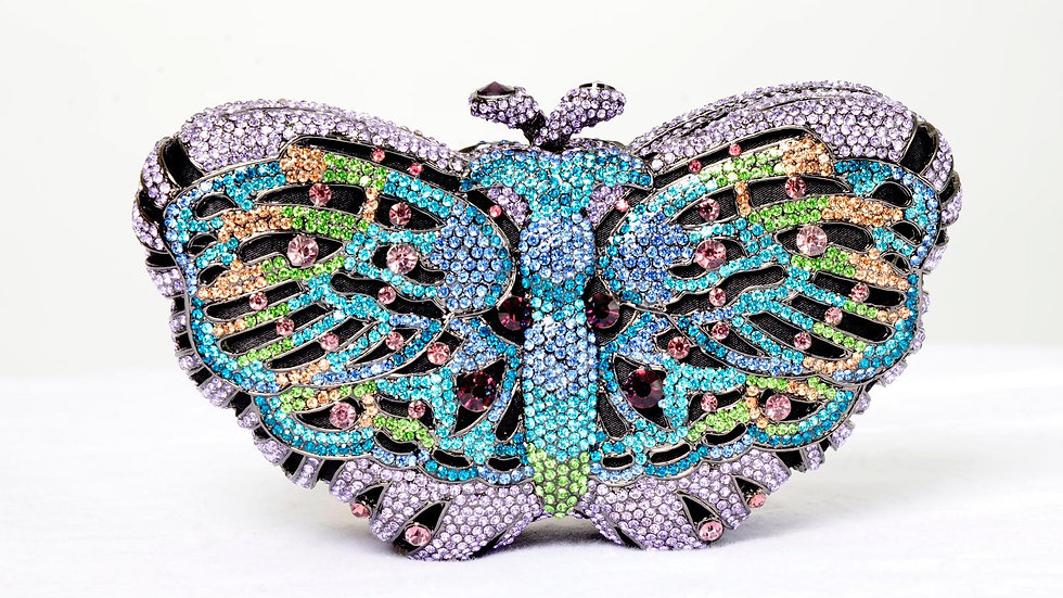Elegant Butterfly Clutch
