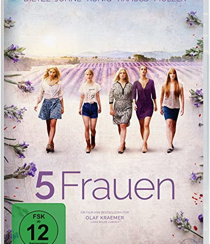 DVD Cover 5 Frauen