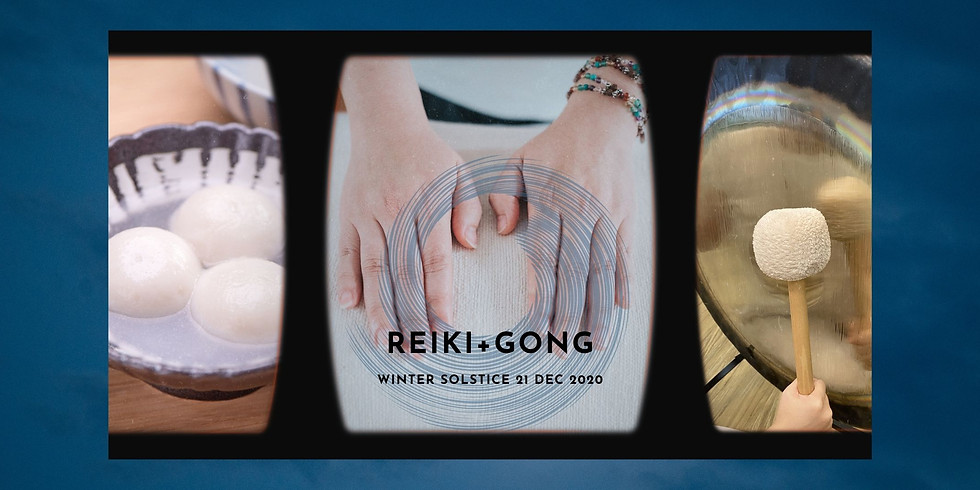 [Sold out] Winter Solstice Reiki+Gong