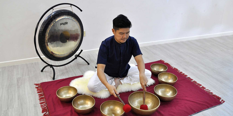 Tibetan Singing Bowls Training Course with Stanley