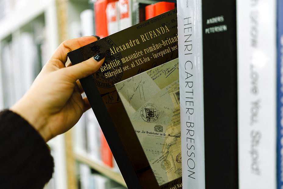 Romanian British Masonic Relations, Alexandru Rufanda, Book Cover Design and Typesetting