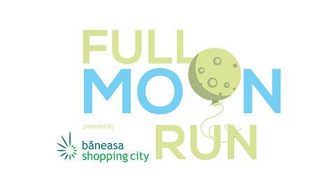 Full Moon Logo Marathon by Baneasa Shopping Center