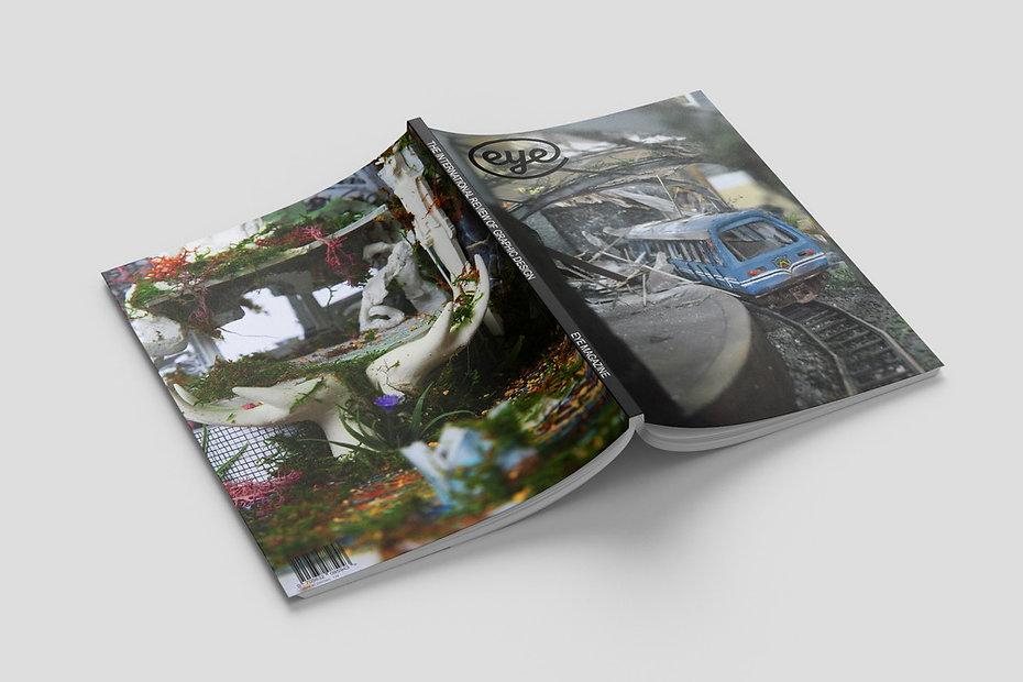 Eye Magazine Cover and Typesetting Design