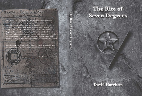 The Rite of Seven Degrees, David Harrison, Book Cover Design