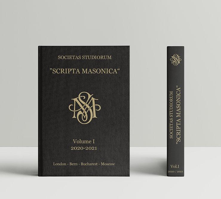 Scripta Masonica Annual Journal Book Cover Design and Typesetting