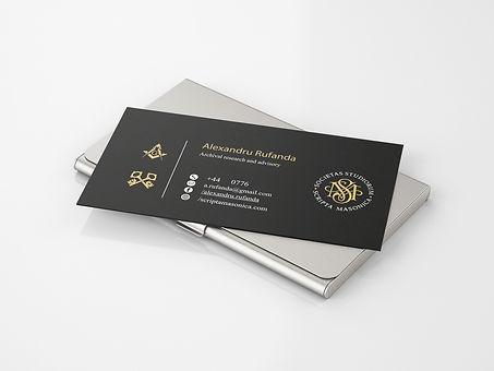 Alexandru Rufanda & Scripta Masonica Brand Identity & Logo