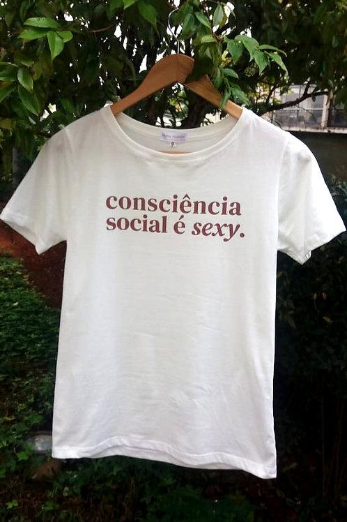 Consciência Social é Sexy - Masculina