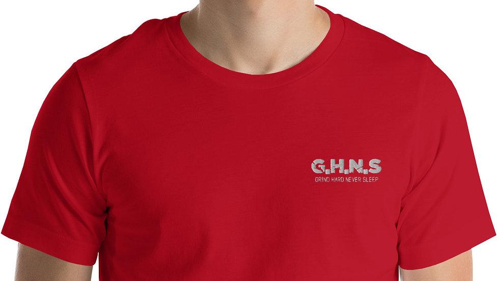 Embroidery Short-Sleeve Unisex GHNS T-Shirt